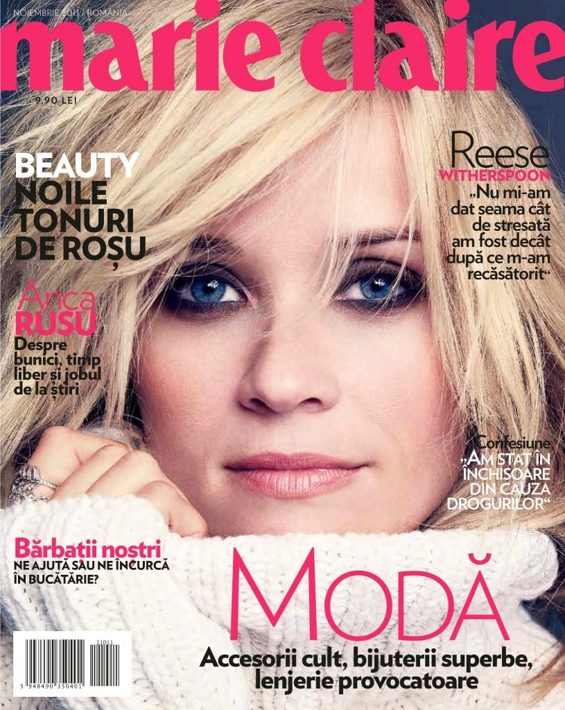 Revista Marie Claire Noiembrie 2011