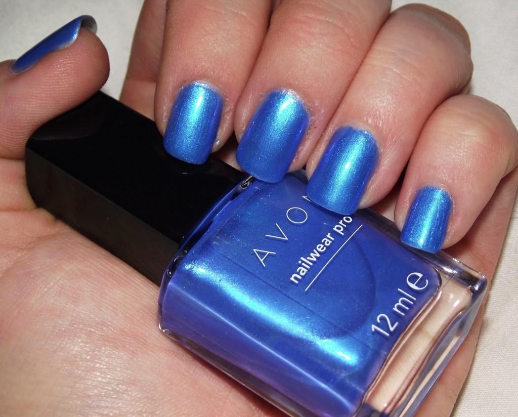 Oja Avon Nailwear Pro Blue Shock