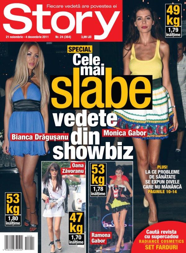 Revista Story cadou farduri Radiance Cosmetics