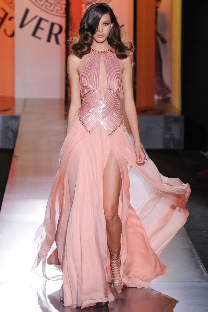 Rochie roz somon