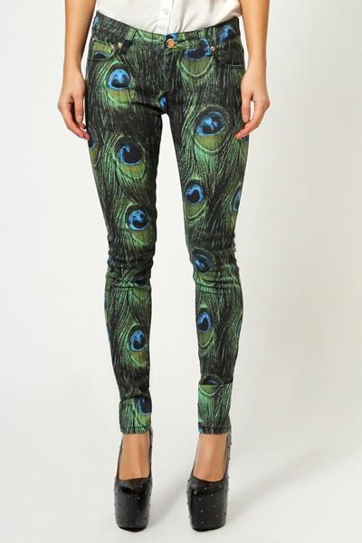 jeans pana paun