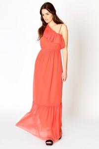 rochie lunga corai