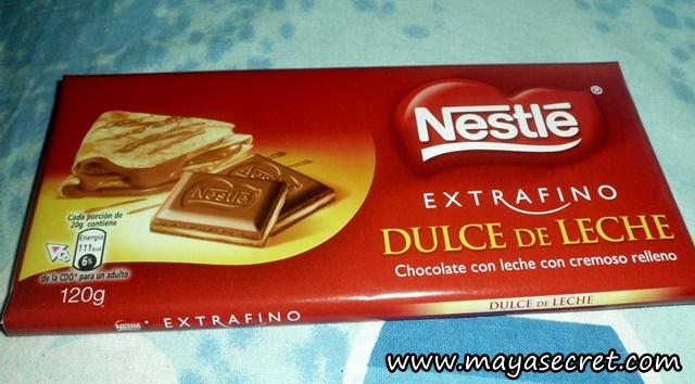 ciocolata nestle dulce de leche