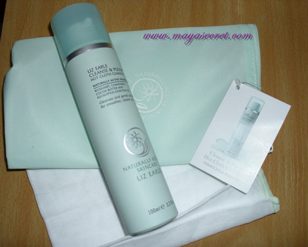 cleanse and polish Liz Earle