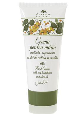 crema de maini cosmetic plant ulei de catina si masline