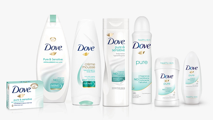 dove pure sensitive