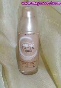 fond de ten maybelline dream satin liquid
