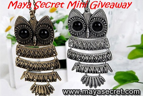 giveaway maya secret