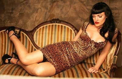 rochie leopard print