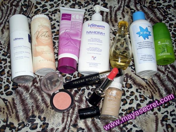produse cosmetice preferate