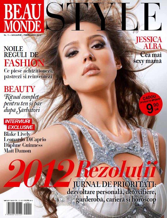 revista beau monde cu cadou ianuarie