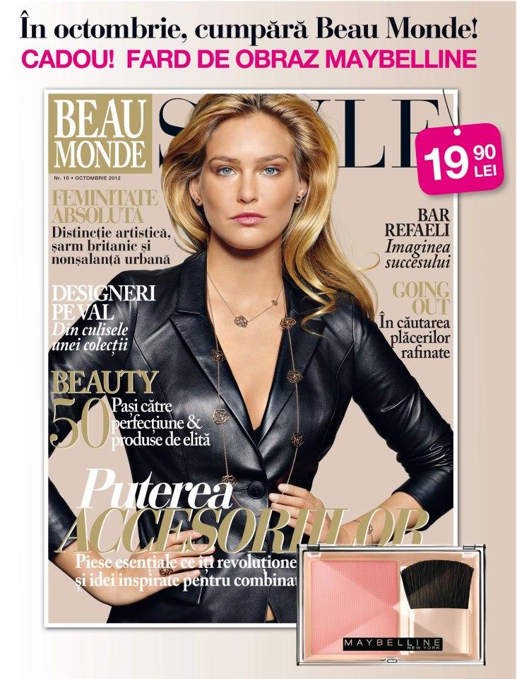 revista beau monde octombrie 2012