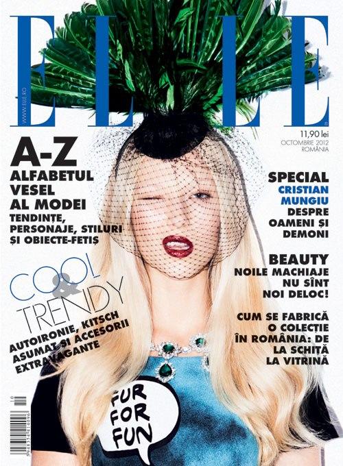 revista elle octombrie 2012