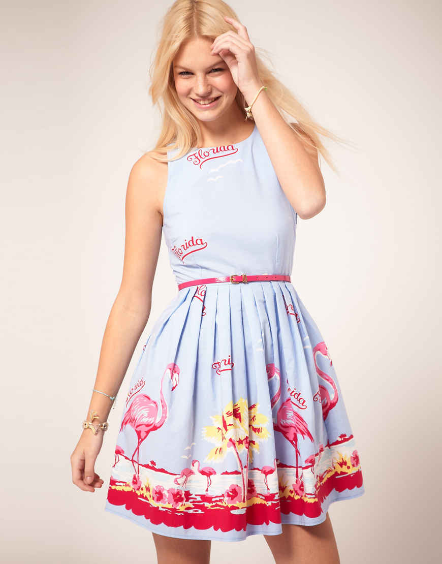 rochie clos bleu