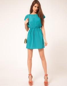 rochie vaporoasa bleu