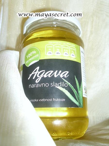 Sirop de agave bio