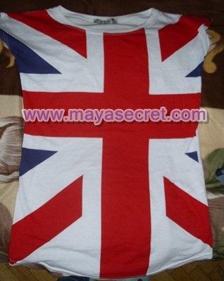 tricou steag marea britanie