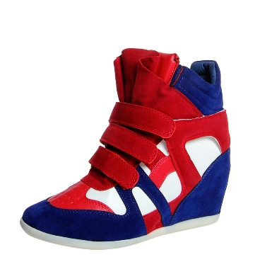 wedges trainers